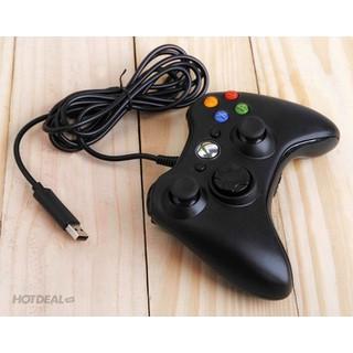 Tay cầm chơi game USB for PC 360 có dây- Tay cầm chơi game - TCCG003-Z thumbnail