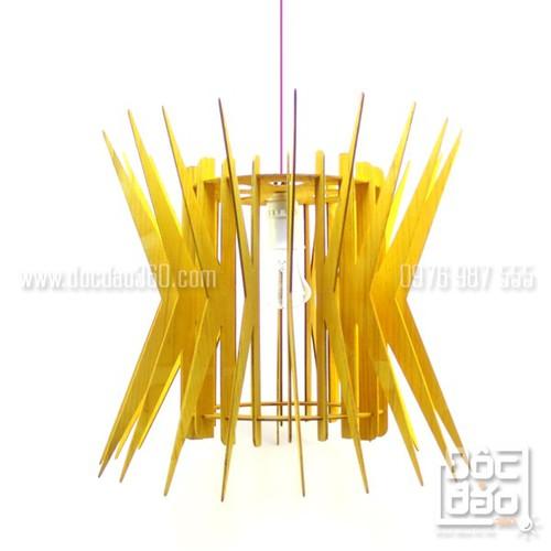 Đèn thả trần trang trí gỗ cao cấp mẫu D360-TT48