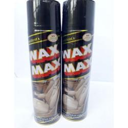 Xịt bóng nội thất đồ da, nhựa, gỗ... WAX MAX bình 500ml