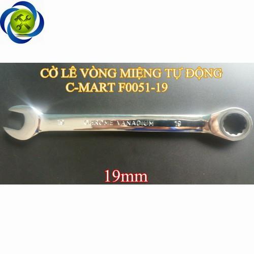 Cờ lê vòng miệng tự động C-mart F0051-19 19mm
