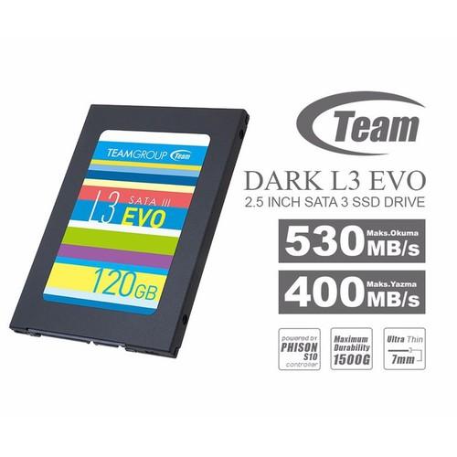 Ổ cứng SSD Team L3 EVO 2.5 120GB , dùng cho máy bàn và laptop