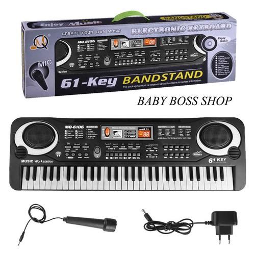 Đàn piano 61 phím Đồ chơi âm nhạc Đồ chơi cho bé Đàn cho bé - 5433663 , 11805278 , 15_11805278 , 350000 , Dan-piano-61-phim-Do-choi-am-nhac-Do-choi-cho-be-Dan-cho-be-15_11805278 , sendo.vn , Đàn piano 61 phím Đồ chơi âm nhạc Đồ chơi cho bé Đàn cho bé