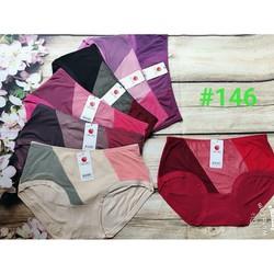 10 quần chip nữ cotton cạp cao