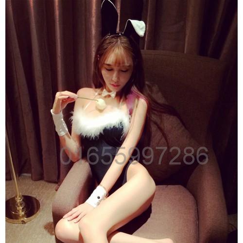 Set ngủ cosplay nàng thỏ điệu đà - C700