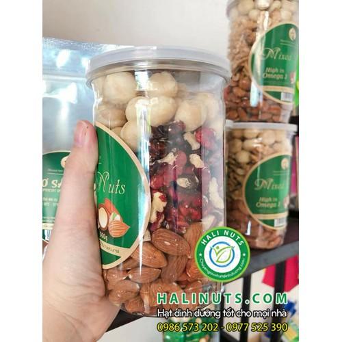 Mixed Nuts 3 loại hạt tách vỏ 500g Óc chó đỏ