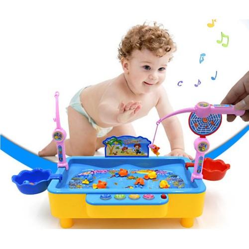 Bộ đồ chơi câu cá nam châm cho bé có nhạc - 5456419 , 11837278 , 15_11837278 , 152000 , Bo-do-choi-cau-ca-nam-cham-cho-be-co-nhac-15_11837278 , sendo.vn , Bộ đồ chơi câu cá nam châm cho bé có nhạc