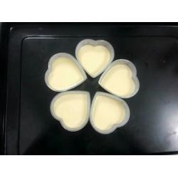 Khuôn Bánh Flan Trái Tim - 50 cái