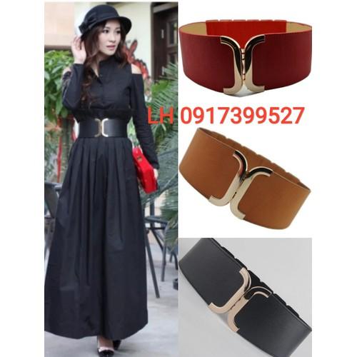 Thắt lưng nữ dây nịt nữ đầm váy thời trang Hàn Quốc l12tl126