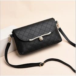 [Tặng nước hoa mini 5ml] Túi đeo chéo nữ khóa tim thời trang KDR-TDC183 Kodoros