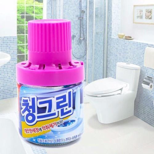 Combo 2 chai thả bồn cầu Hàn Quốc hương lavender