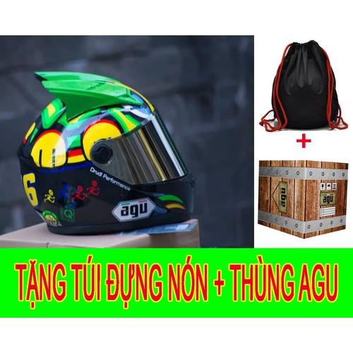 Nón bảo hiểm AGU tem Rùa gắn sừng Tặng túi và thùng đựng nón - 5450662 , 11830031 , 15_11830031 , 355000 , Non-bao-hiem-AGU-tem-Rua-gan-sung-Tang-tui-va-thung-dung-non-15_11830031 , sendo.vn , Nón bảo hiểm AGU tem Rùa gắn sừng Tặng túi và thùng đựng nón