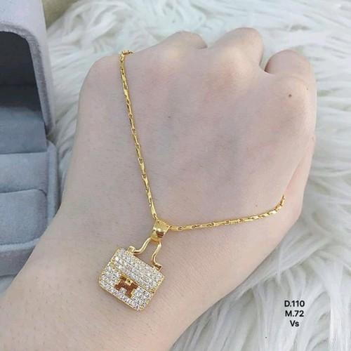 dây chuyền nữ vàng tây 10 kara - 5444574 , 11821218 , 15_11821218 , 3500000 , day-chuyen-nu-vang-tay-10-kara-15_11821218 , sendo.vn , dây chuyền nữ vàng tây 10 kara