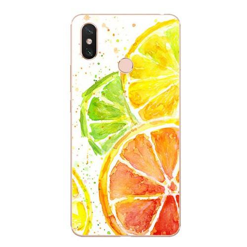 Ốp lưng điện thoại xiaomi mi max 3 - oranges