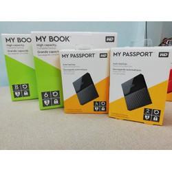 Ổ cứng di động 2T  My Passport Model 2019 tặng túi chống sốc tốt