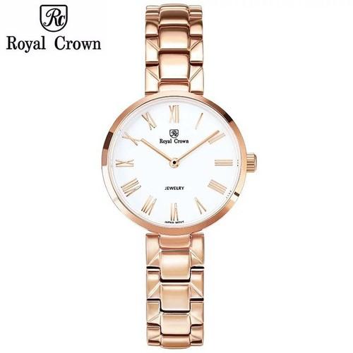 Đồng hồ nữ chính hãng Royal Crown 2601 dây thép vỏ vàng hồng - 5455328 , 11835961 , 15_11835961 , 3399000 , Dong-ho-nu-chinh-hang-Royal-Crown-2601-day-thep-vo-vang-hong-15_11835961 , sendo.vn , Đồng hồ nữ chính hãng Royal Crown 2601 dây thép vỏ vàng hồng