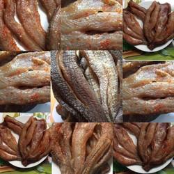 Khô Cá Lóc Miền Tây Loại 1 Phơi 3 Nắng Ngon  Hết Biết-1kg