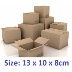 100 thùng carton hộp carton 13x10x8cm