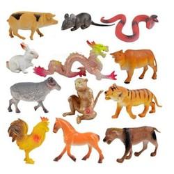 Bộ đồ chơi mô hình động vật 12 con giáp