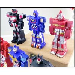 Bộ đồ chơi 6 siêu nhân robot không biến hình tay có thể cử động