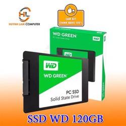 SSD 120GB WD Green Sata 3 chuẩn 2.5inch chính hãng Vĩnh Xuân - FPT - Minh Thông phân phối