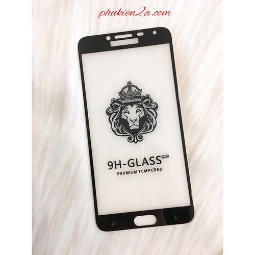 Dán cường lực Samsung Galaxy J4 Full màn hình Glass Pro