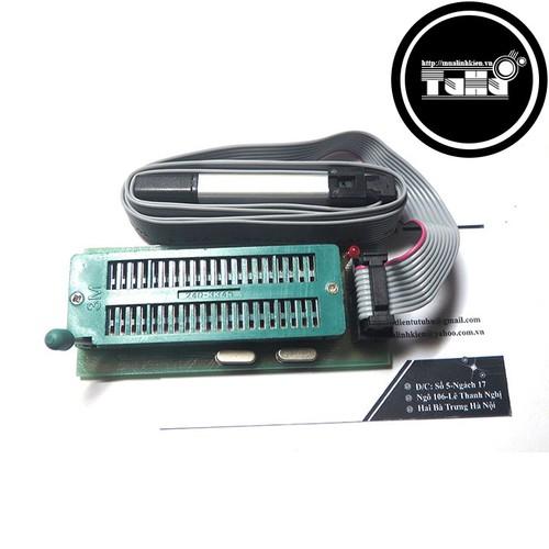 Combo mạch nạp và đế nạp 8051 avr