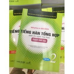 Combo Sách Tiếng Hàn Tổng Hợp Dành Cho Người Việt Nam 2