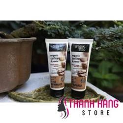 Tẩy da chết mặt Organic shop Organic coffee Nga