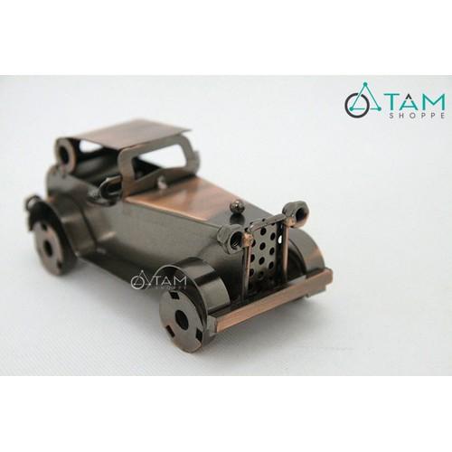 Mô hình xe cổ điển bằng sắt trang trí Vintage số 26