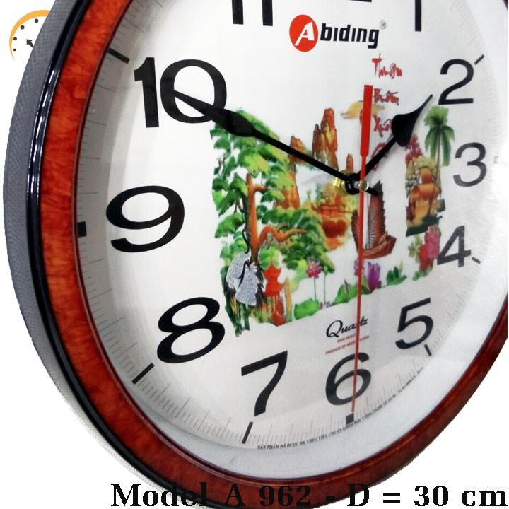 Đồng hồ treo tường Abiding 962 4