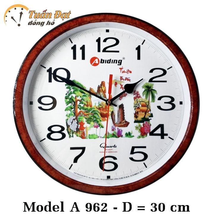 Đồng hồ treo tường Abiding 962 1