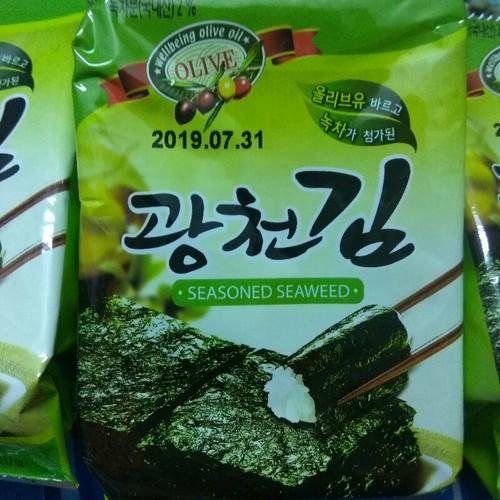12 gói rong biển ăn liền - snack rong biển Hàn Quốc vị oliu - 6159534 , 12709800 , 15_12709800 , 199000 , 12-goi-rong-bien-an-lien-snack-rong-bien-Han-Quoc-vi-oliu-15_12709800 , sendo.vn , 12 gói rong biển ăn liền - snack rong biển Hàn Quốc vị oliu