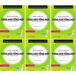 Combo Sách Tiếng Hàn Tổng Hợp Dành Cho Người Việt Nam 1-6