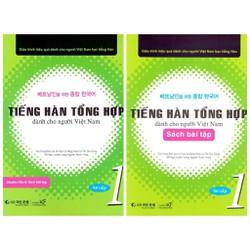 Combo Sách Tiếng Hàn Tổng Hợp Dành Cho Người Việt Nam 1