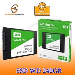 SSD 240GB WD Green sata 3 chuẩn 2.5inch chính hãng Minh Thông - Vĩnh Xuân phân phối