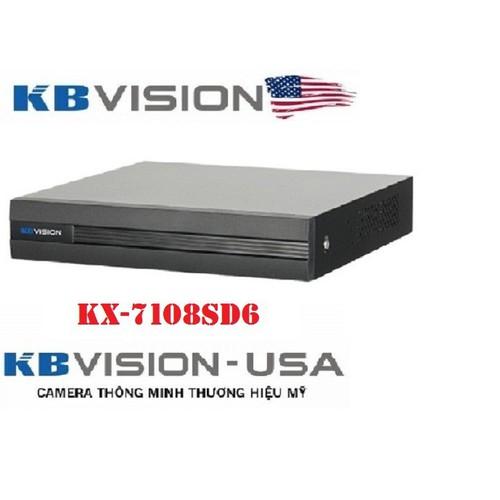 Đầu ghi hình 8 kênh 5 in 1 KBVISION KX-7108SD6 - 5478379 , 11865612 , 15_11865612 , 1220000 , Dau-ghi-hinh-8-kenh-5-in-1-KBVISION-KX-7108SD6-15_11865612 , sendo.vn , Đầu ghi hình 8 kênh 5 in 1 KBVISION KX-7108SD6