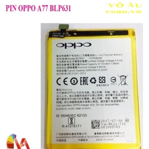 PIN OPPO A77 BLP631 - 5476164 , 11862614 , 15_11862614 , 139000 , PIN-OPPO-A77-BLP631-15_11862614 , sendo.vn , PIN OPPO A77 BLP631