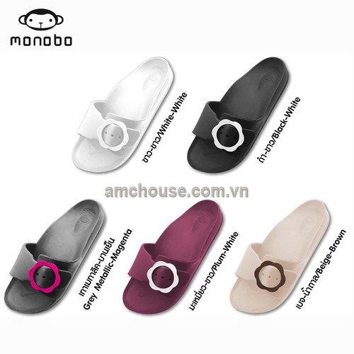Dép nhựa đúc Thái Lan nữ quai khóa hoa  MONOBO siêu nhẹ, êm - 5475580 , 11861886 , 15_11861886 , 220000 , Dep-nhua-duc-Thai-Lan-nu-quai-khoa-hoa-MONOBO-sieu-nhe-em-15_11861886 , sendo.vn , Dép nhựa đúc Thái Lan nữ quai khóa hoa  MONOBO siêu nhẹ, êm