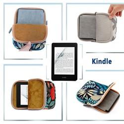 Túi bảo vệ máy đọc sách kindle 6inch họa tiết hoa văn
