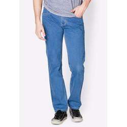 quần jean trung niên ống suông
