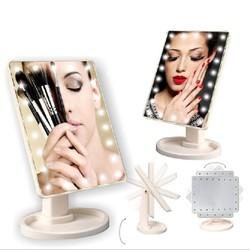 Gương Trang Điểm Có Đèn Led-gương trang điểm-gương mini