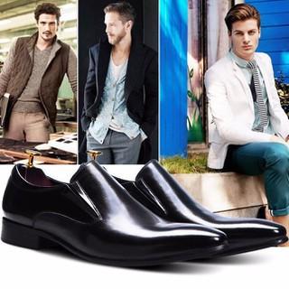 Giày tây Aston MG - giày tăng chiều cao - AST010 thumbnail