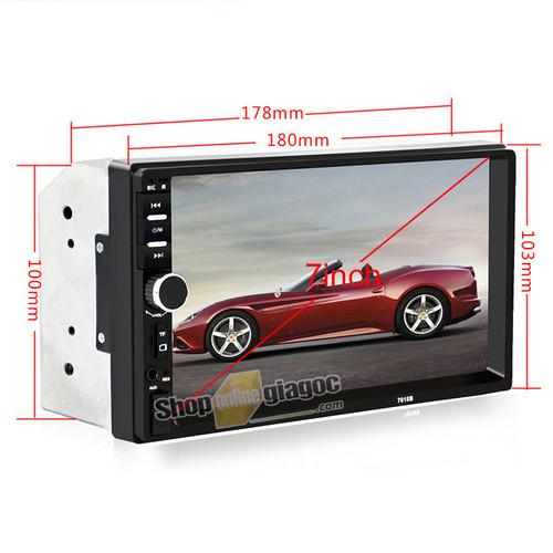 Màn Hình Cảm Ứng Ôtô Mp5 7in HD Bluetooth