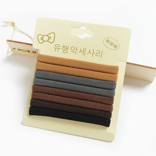 Set thun cột tóc Hàn Quốc
