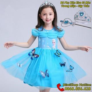 Váy Elsa - Váy Elsa Cho Bé - Váy Công Chúa Elsa