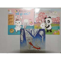 Combo 3 cuốn truyện tranh cho bé