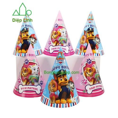 6 Mũ đội tiệc sinh nhật liên hoan