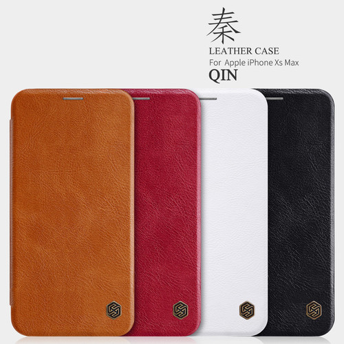 Bao da Nillkin QIN cho IPhone XS max