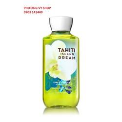 Gel tắm BBW TAHITI ISLAND D R E A M