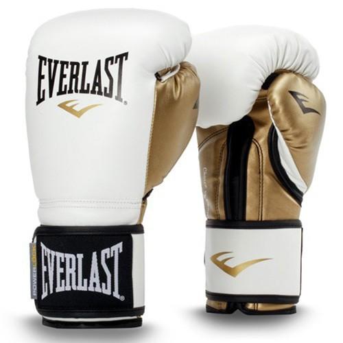 Găng tay Boxing Everlast chính hãng Trắng - Tặng túi đựng găng